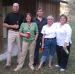 Tim and Amy Yarbrough Whitham, Scott Schiltz, Kathleen Strain and Beth Floyd