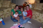 These are my girls and two beautiful grandbabies   Terri jackman Sanders