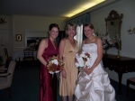 Terri Jackman Sanders and her two oldest daughters, Mandy and Nicki