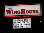The Lakeland WingHouse shows their appreciation for Rick Beale serving 30 years with LFD and his disposable income.