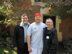 From Leonard Ruff:    Evan moved in at the Phi Gamma Delta house at UW