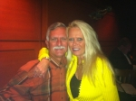 My Baby & I celebrating Valentines Day at The Fox Jazz Club in Tampa 2012