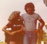 Tony McMahon and Susan Stout looking 'Most Likely to be Hotties' 1977