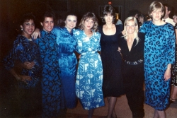 Best Friends Forever at Reunion X and funny enough, none of us knew what the others were wearing!