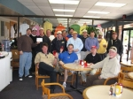 Jan 2007:  LHS alumni in the picture are, from left to right, Mike Carter, David Randall, Tony McMahon, Larry Murphy, De