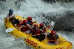 White water rafting at the Chattoga River