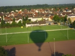 View from the Balloon over Baden Baden Germany